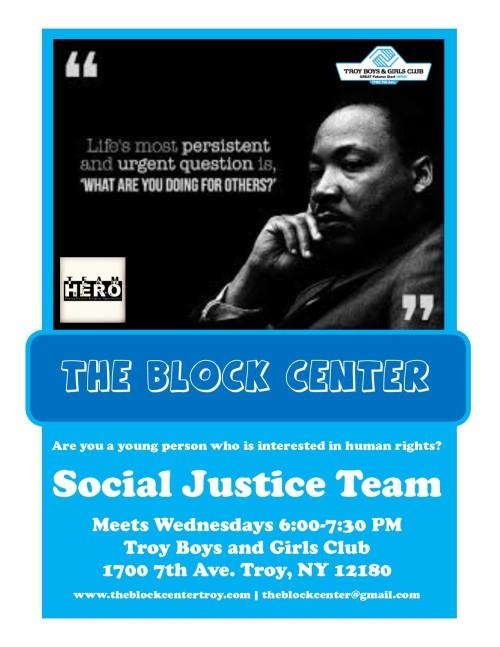 social-justice-team-flyer